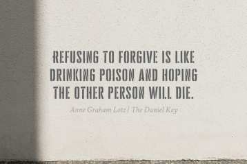 Forgiveness Makes a Difference