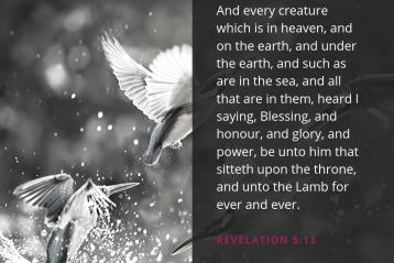 Revelation 5:13