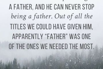 Advent: Everlasting Father