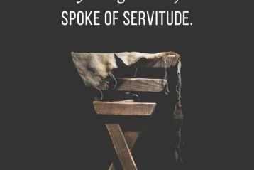 Jesus, Born a Servant