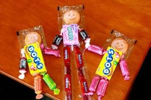 Candy People creative halloween craft ideas