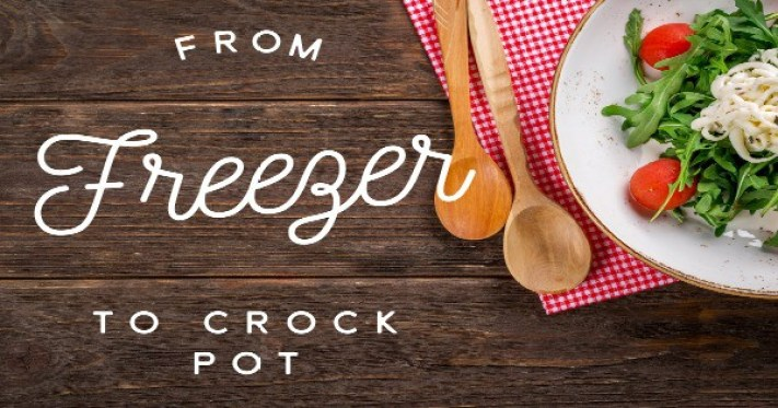 Easy Crockpot Freezer Meals for Back to School