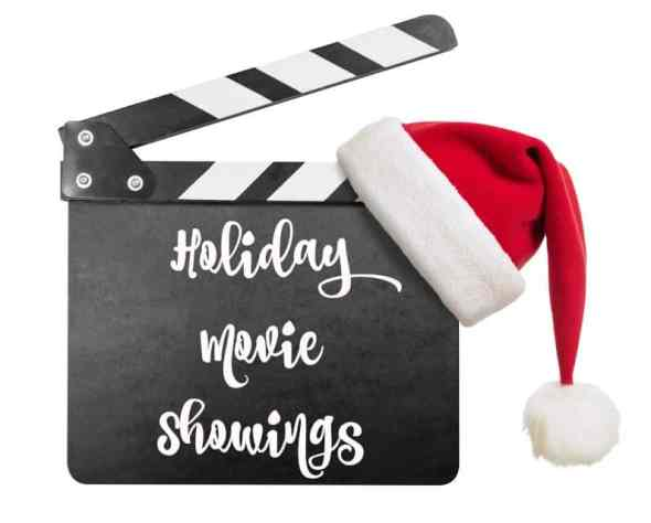 holiday movie showings