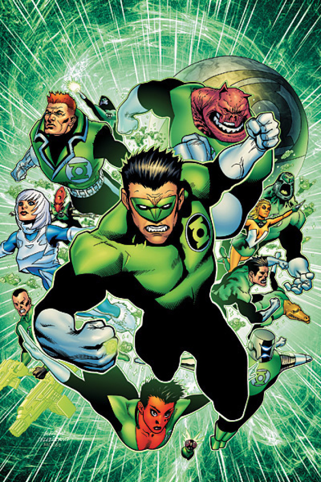 GREEN LANTERN CORPS RING QUEST TP
