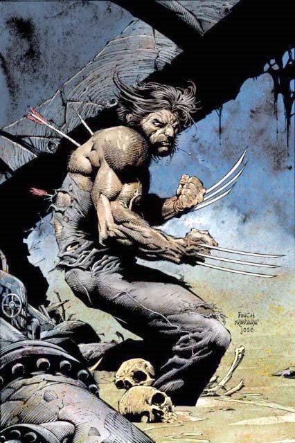 Wolverine Beard Comic : wolverine, beard, comic, Comic, Characters, Facial