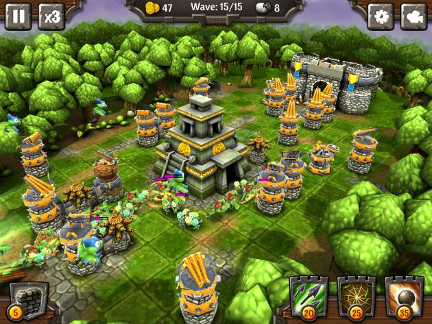 siegecraft td ios game