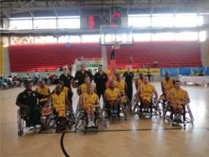 wheel chair basket ball 4
