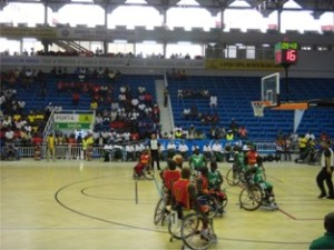 wheel chair basket ball