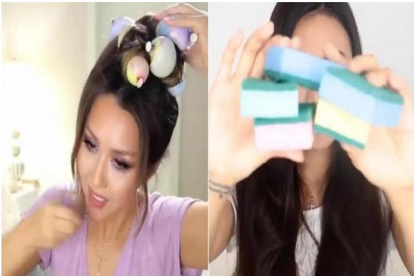 أغراض لتصفيف الشعر