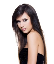 cute straight easy hairstyles