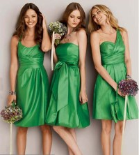 Mint Green Bridesmaid Dresses Short