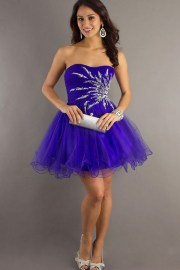 purple prom dresses 2013 short