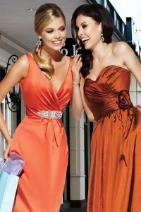 red and orange bridesmaid dresses - Fashion Trends Styles ...