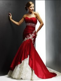 red and white bridesmaid dresses - Fashion Trends Styles ...
