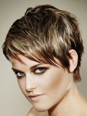 Short Hairstyles With Highlights For 2014 Short Hair Trend 2017