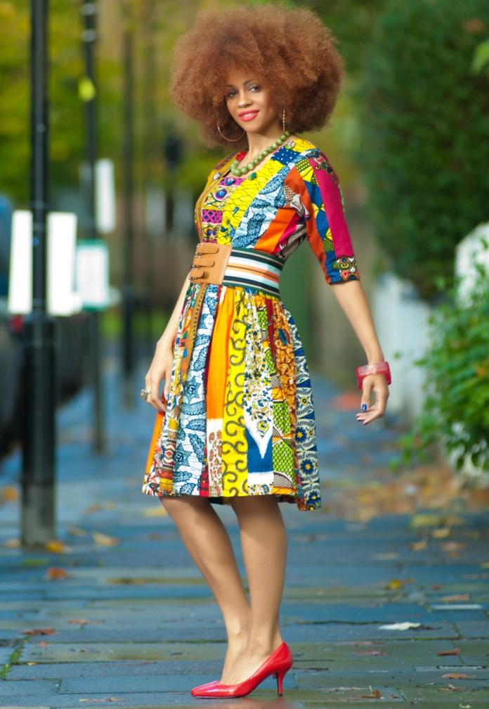12-african-Patch-Work-Midi-Dress