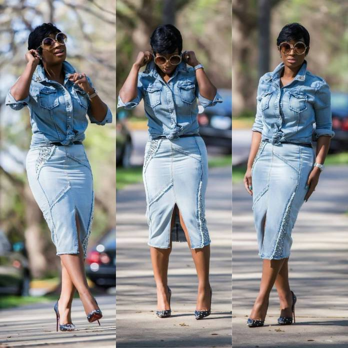 Look 1: Chic Ama