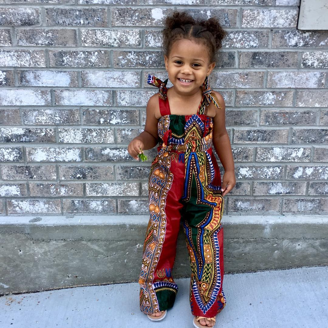 Kiddies Ankara Fashion Design