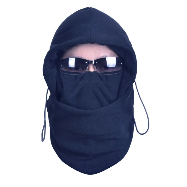Thermal Fleece 6 In 1 Face Mask Balaclava Hoodie Neck