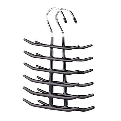 4pk Tie Hanger Holder Closet Organizer Storage Necktie