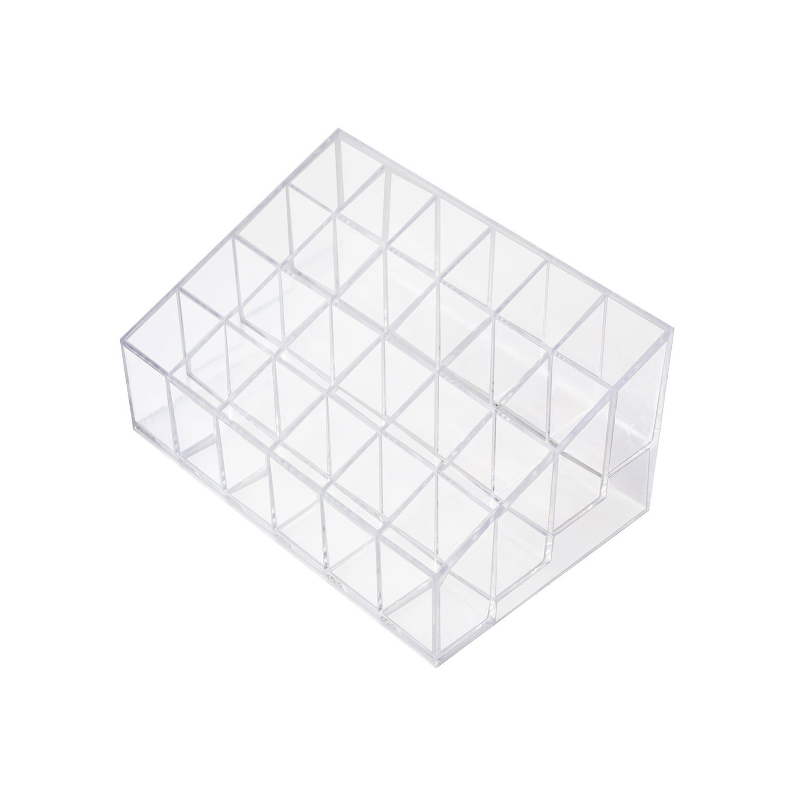 Clear Acrylic Cosmetic Display Organizer Lipstick Makeup