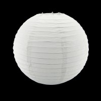 8In White Circle Round Paper Lantern Lamp Shade Party Home ...