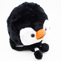 New Animal Winter Hat Fluffy Plush Warm Cap Mittens Scarf ...