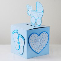 ifavor123.com: BabyShower Wishing well card, gift or money
