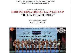 "IFBB International Latvian Cup ""Riga Pearl 2017"" @ Letonia | Riga | Letonia"