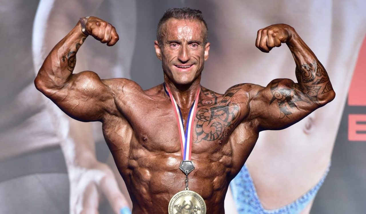 Juan Alberto Machado, nuevo IFBB PRO Elite