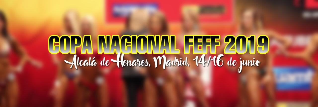 Copa Nacional de España 2019 FEFF - IFBB