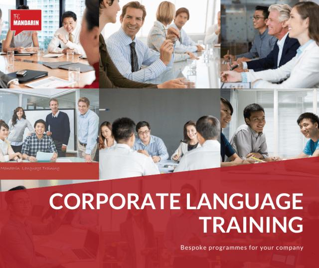 corporate chinese language training
