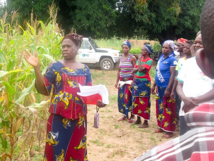 C4CP Burkina Female Training