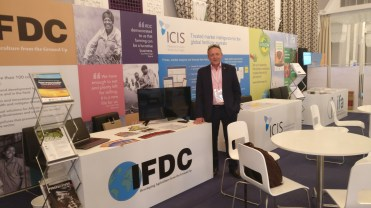 IFDC booth @ IFA conference 2017 8