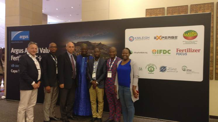 WAFA delegates at Argus Value Added Fertilizer (AVF) Conference