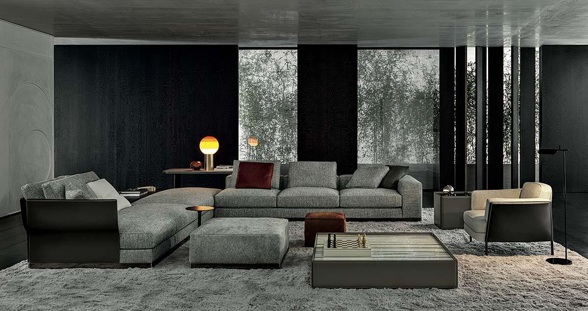 Minotti S Style Embraces Fluid Architecture Design Salone Del Mobile Milano Ifdm