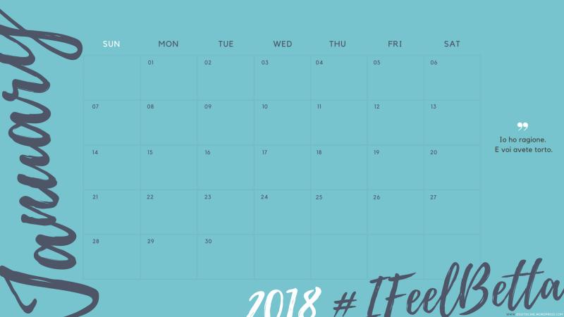 Calendario della Betta 2018