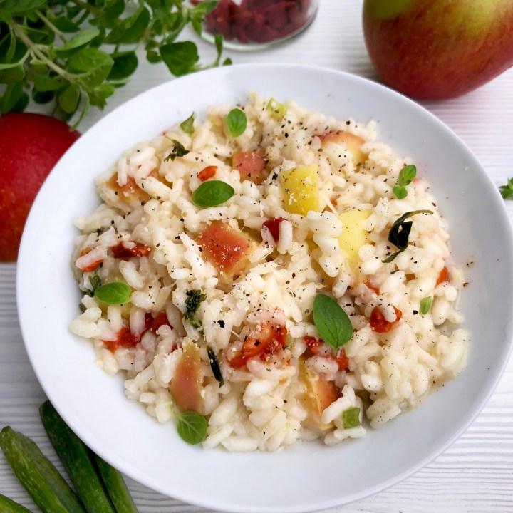 Il tempo del risotto alle mele