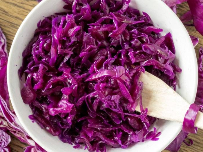 crauti viola fermentati