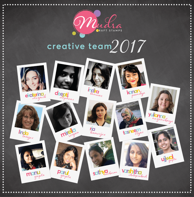 Design Team Member – Mudra Craft Stamps!!
