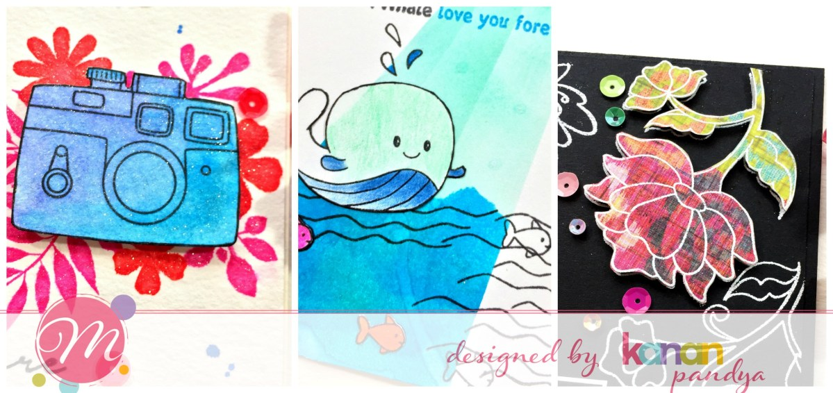 Three Bright and Happy Cards – Mudra Craft Blog!!!