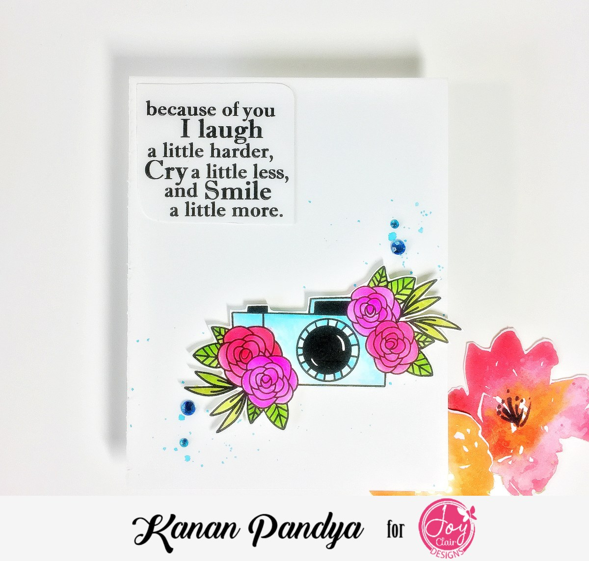 A Card Using Pamper Yourself – Joy Clair