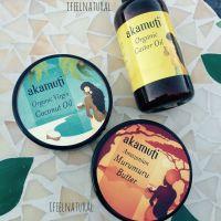 Olio di cocco, olio di ricino, burro di muru muru - Akamuti