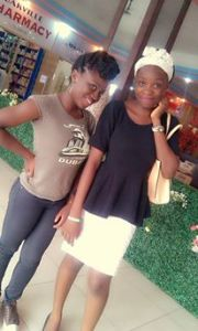 ...and she be forming 'I am taller than you.' It's the heels jor! :p