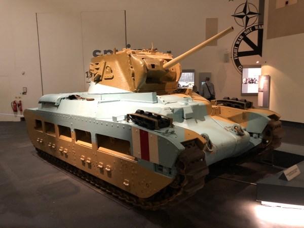 Matilda II infantry tank