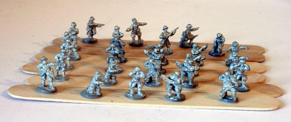 French Heavy Artillery Battery Crew