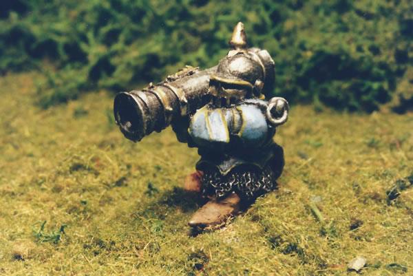 Chaos Dwarf with Bazooka.