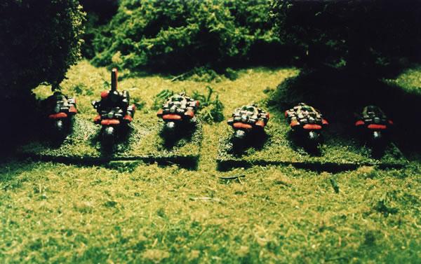 Epic Ork Warbikes