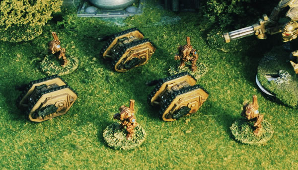 Land Raiders and Dreadnoughts