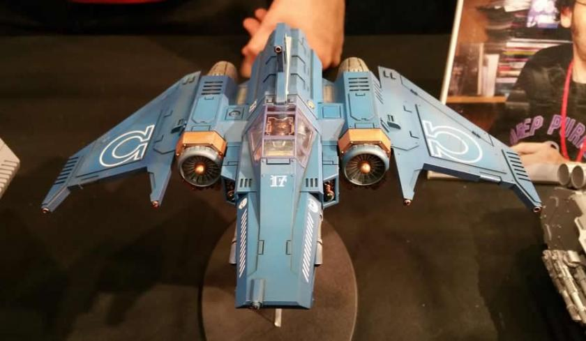 Space Marine Xiphon Pattern Interceptor